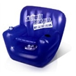 Cooler Chair 3 - Inflatable cooler chair with cup holder and storage under the seat.
