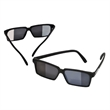 Spy Sunglasses - Spy sunglasses feature outer edge rear-view mirrored lenses.