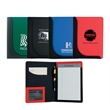 Jr. Executive L-Curve Padfolio - Junior padfolio with front inside slip pocket and elastic pen loop.