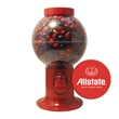 Gumball Machine w/ Chocolate Littles compare to M&M®candy - Gumball machine dispenser with chocolate littles candy.