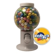 Gumball Machine Candy Dispenser with Gumballs - Gumball machine candy dispenser with gumballs or gum balls.
