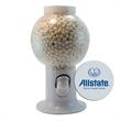 Gumball Machine Dispenser with Peppermint Breath Mints - Gumball machine dispenser with signature peppermints breath mints and fresheners.