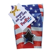 Window Bag with Hard Foil Candy - Patriotic - 4th of July