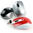 Mousebyte Wireless Optical Mouse - Wireless optical computer mouse.