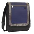 City Messenger Bag - Messenger bag with front zipper pocket and adjustable strap.