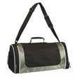 Large Sports Shoe Duffel Bag ( CLOSEOUT ) - Large sport duffel bag with separate shoe compartment and rubber hand grip handle.