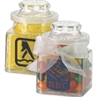 Plastic Jar filled with gourmet jelly beans - 8 oz plastic jar filled with gourmet jelly beans.