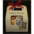 Lucky Sweets Tote - Assorted casino related chocolate novelties in tote
