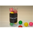 Cylinder of Giant Gumballs - 3.5 oz. cylinder of giant gumballs is perfect for thank you gifts.