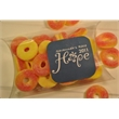 Pillow Pack of Gummy Peach Rings - 5 oz. pillow pack of gummy peach rings.