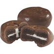 Individually Wrapped Mini Chocolate Sandwich Cookie - Mini chocolate sandwich cookie.