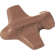 Chocolate Shape - Plane - Cello wrapped, 1/2 oz. plane shape molded chocolate.