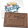1 lb. 3D Season Greetings Custom Molded Chocolate Bars