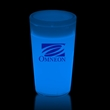 Blue 2 oz. Tapered Style Light Up Glow Shot Glass