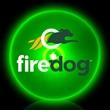 Green Circle Shape Flashing LED Light Up Glow Button