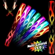Flame LED Cheering Light up Glow Lumiton Baton Wand