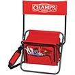 Outdoor Cooler Chair - Outdoor cooler chair. Folding chair with heavy insulated cooler under seat.