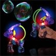 "Super Duper LED Bubble Gun - 6 1/2"" Super duper LED bubble gun, blank."