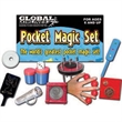 Pocket Magic Set - Pocket magic set has 9 magic tricks ready to entertain.