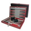 Leatherette Backgammon Set (Small) - Leatherette Backgammon Set (Small)