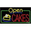 "LED Display Sign Outdoor Indoor for Business Office or Store - LED sign with Open Flasher & Animation.17"" x 32"" x 1""."