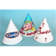 Small Custom Cone Hat - Child size custom cone party hat