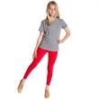 Youth Cotton Spandex Jersey Legging - Youth cotton spandex jersey legging. Blank.
