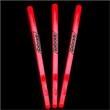 """Glow Cocktail Stir Stick - 5"""" - Red - Red glow cocktail stir stick, 5""""."""