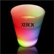 Light Up Shot Glass - 2 oz. Neon Multi Colored - Neon multi color light up shot glass, 2 oz.