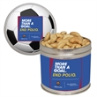 Half Quart Tin Containers with Cashews Nuts