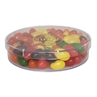 Large Round Show Piece with Corporate Jelly Beans Candy - Large round acrylic show piece with corporate jelly beans candy.