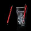 "Red 5"" Light Up Glow Straw"