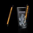 """Orange 5"""" Light Up Glow Straw"""