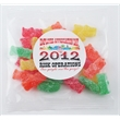 "1oz. Tootsie Rolls® Goody Bag - Goody bag with candy, 3"" x 4"" bag, 1 oz."
