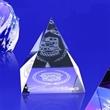 """Award-Pyramid Paperweight 2-1/8""""h"""
