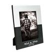 5 x 7 Black & White Frame