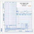 "Snap-A-Part Auto Repair Order - 8 1/2"" x 8 1/2"" auto repair order form with carbon."