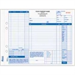 "Snap-A-Part Auto Repair Order - 11"" x 8 1/2"" three-part auto repair order form with carbon."