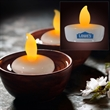 Amber Water Activated Floating Candle Flickering Light