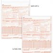 Claim Form - Carbonless CMS-1500 revised claims form (8/05). Blank product.