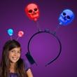 Spooky Skull Light Up Headband Boppers