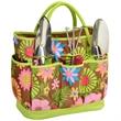 Gardening Tote Set - Gardening tote bag with 3 piece stainless steel garden tool set.