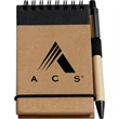 Recycled Jotter Pad with Pen - Recycled Jotter Pad with Pen