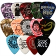 Celluloid Standard Shape Guitar Pick Gloss Colors - Gloss finish standard shape guitar pick.