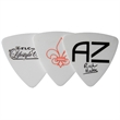 GrippX Tri-Tip Shape Guitar Pick Matte White - Matte finish Tri-Tip shape guitar pick.