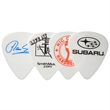 GrippX Standard Shape Guitar Pick Matte White - Matte finish standard shape guitar pick.