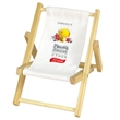 WOOD BEACH CHAIR CELL PHONE HOLDER