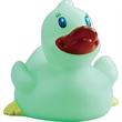 Classic Rubber Glow in the Dark Duck - Classic glow in the dark duck.