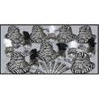 Zebra Print New Year's Eve Party Kit for 50 - Zebra New Year's party kit for 50, blank.