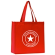 """13 X 13 X 5 Polytex Tote - Large capacity, non-woven tote bag with 6"""" gusset and 18"""" long straps."""